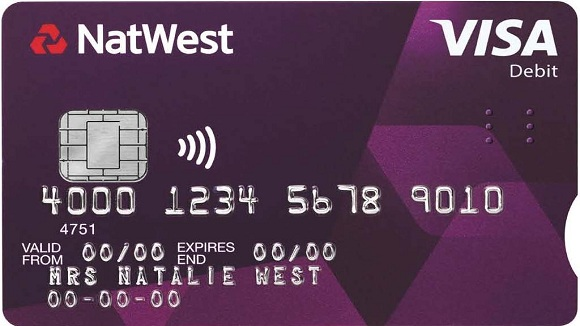 NatWest accessible card